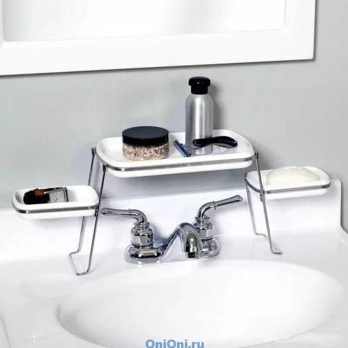 системы хранения в маленькой ванной