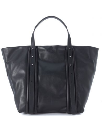 DKNY Borsa Dkny Tote Large In Pelle Nera. #dkny #bags #hand bags #tote #