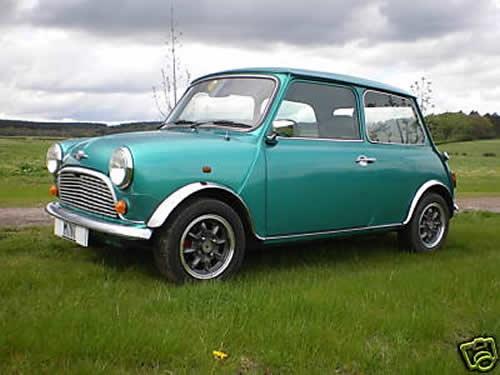 Classic Mini Cooper- please please please please please... <3