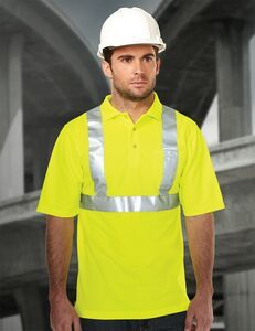 Tri-mountain Safety Workwear Boundary Polo Shirt