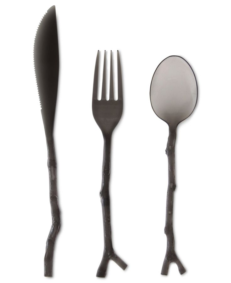 What a cool twist on traditional flatware! MADHOUSE by Michael Aram