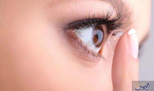 أول عدسات لاصقة تحمي العين من الأشعة فوق البنفسجية بموافقة Contact Lenses Contact Lenses For Astigmatism Bionic Contact Lens