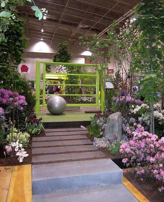 canada blooms 2013-otium   Fitness Circuit in the garden