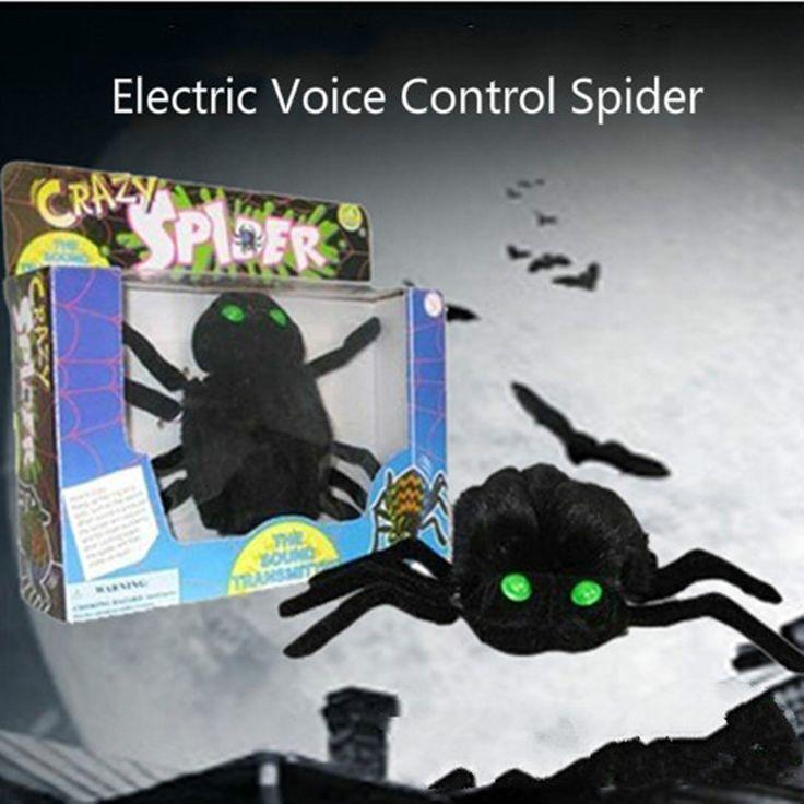 Adminículo de la araña antiestrés divertidos gadgets juguetes antiestrés interesante novedad shocker gags cámara oculta broma broma regalo oyuncak | 32794130794_nl