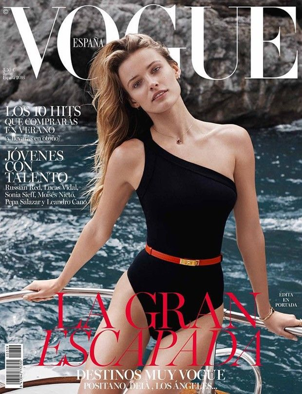Edita Vilkeviciute Covers Vogue Spain June 2016