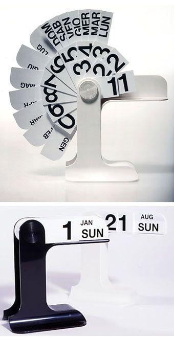 Enzo Mari Timor Desk Calendar