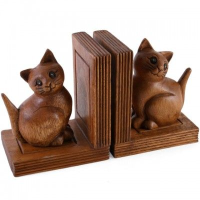 Pictures of cat book ends - Google Search