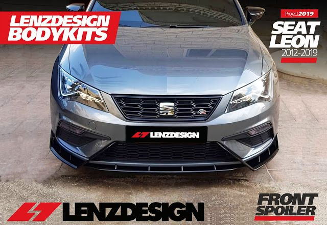 Seat Leon Mk3 5f Lenzdesign Bodykit 2012 2019 Seat Leon Seating Body Kit