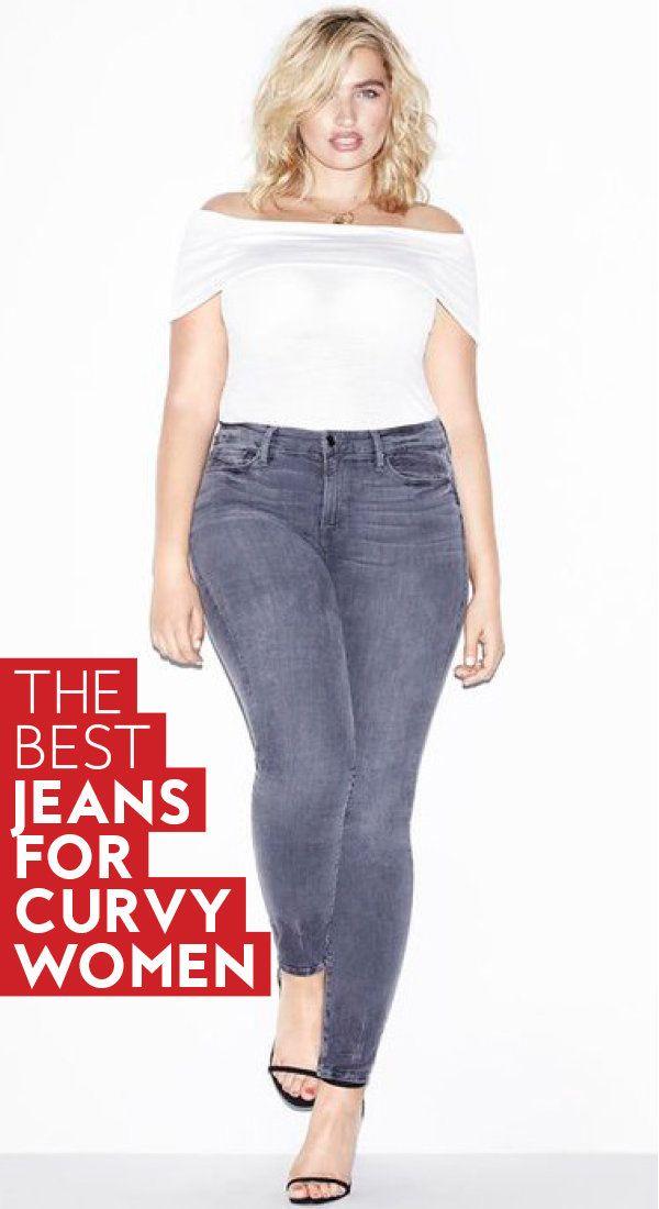 4b0a724f916 The best  jeans for  curvy women.  plussize  plussizejeans  curves   flatteringjeans  denim  fashion