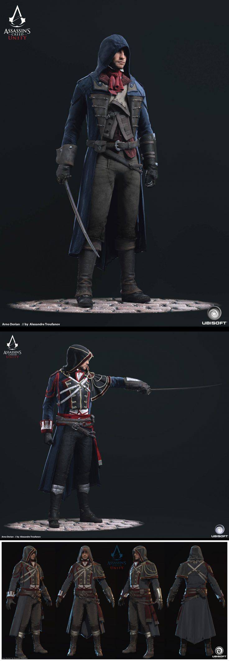 Assassins Creed Unity by Alexandre Troufanov