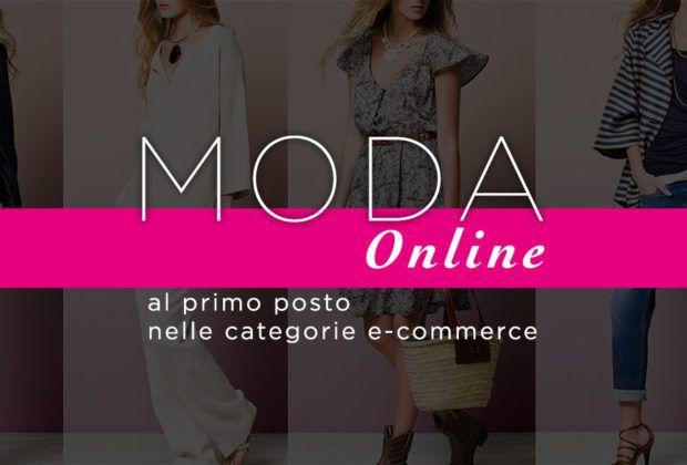 Moda online al primo posto tra i settori e-commerce