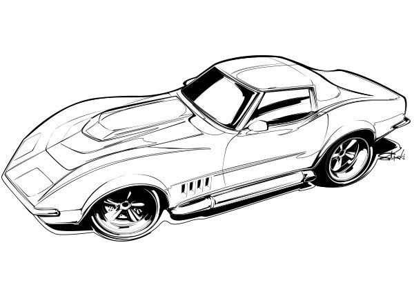 Cars To Color With Your Kids Brought You By Welder Series And Studio PCK Find This Pin More On Car Coloring Pages