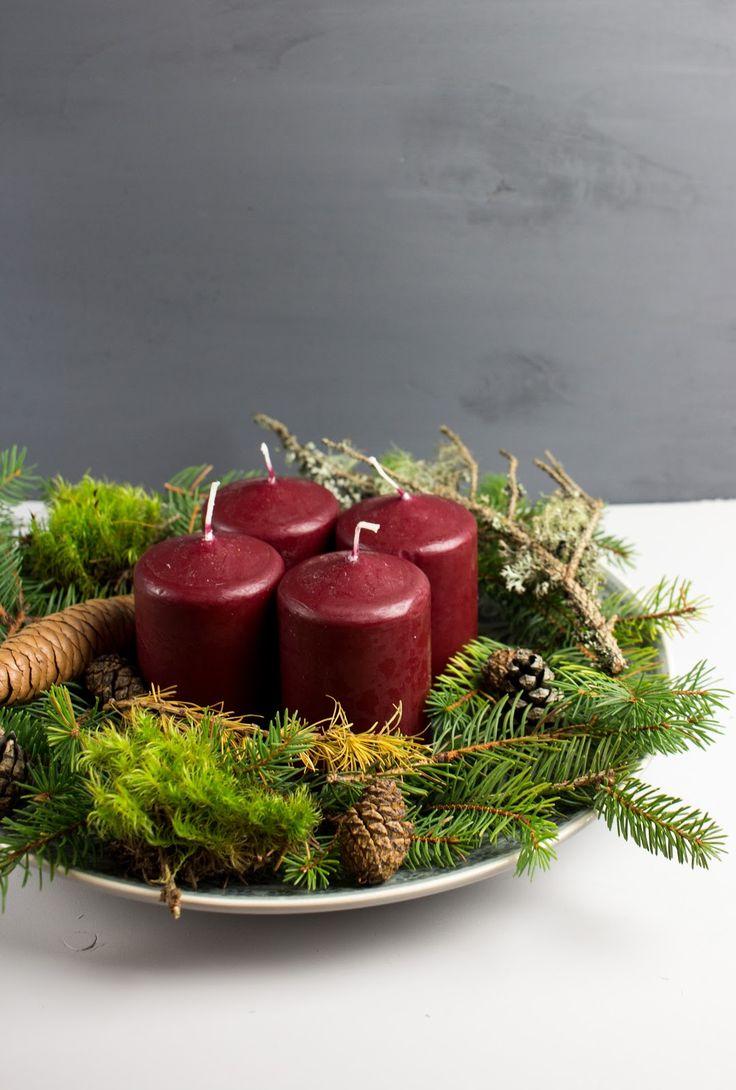die besten 25 weihnachtlich basteln mit naturmaterialien ideen auf pinterest basteln mit. Black Bedroom Furniture Sets. Home Design Ideas
