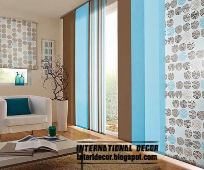 Fashion Japanese Curtain Colors For Living Room 2014