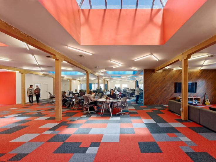 88 best spaces youth images on pinterest commercial for Office design language