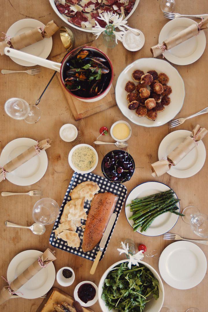 buffet de no l food pinterest christmas parties. Black Bedroom Furniture Sets. Home Design Ideas