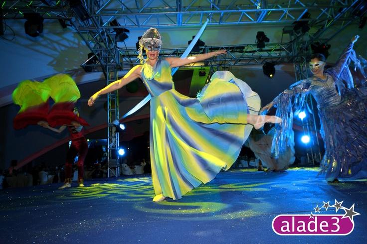 Danza en evento corporativo organizado por www.alade3.es