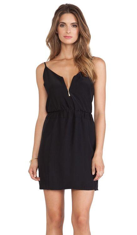 Amanda Uprichard Nikki Dress in Black