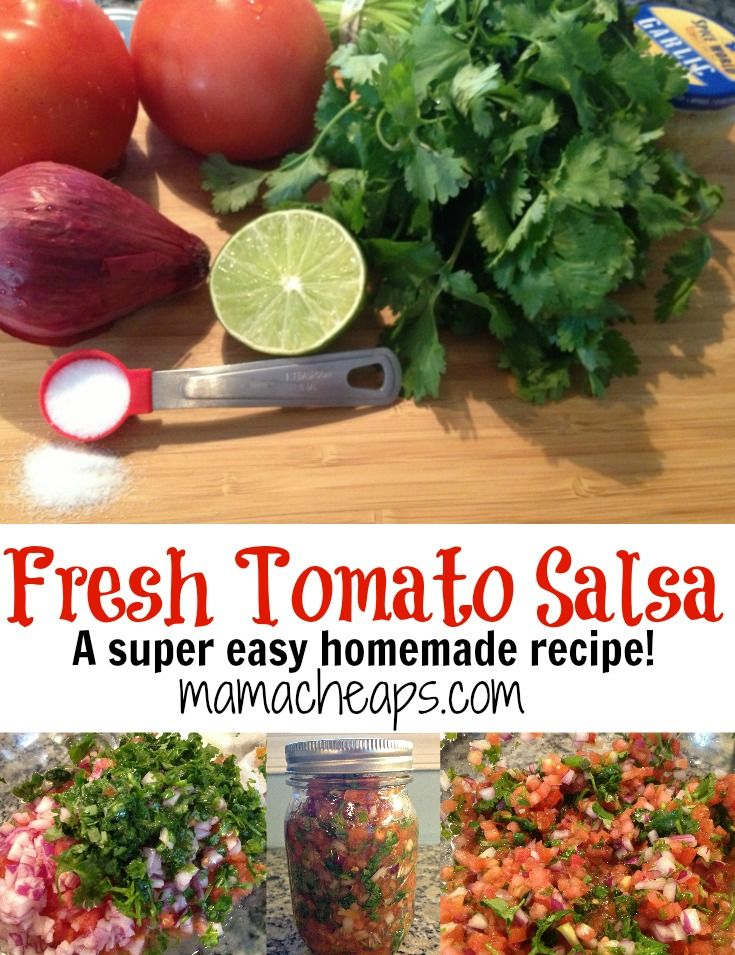 Not only is this recipe an easy and delicious one to make with store-bought produce, it's one you'll want to PIN for summer when your gardens (or local farmer's markets) are overf…