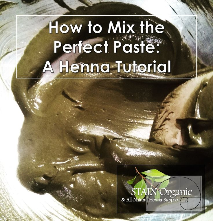 How to Mix Perfect Paste | A Henna Tutorial