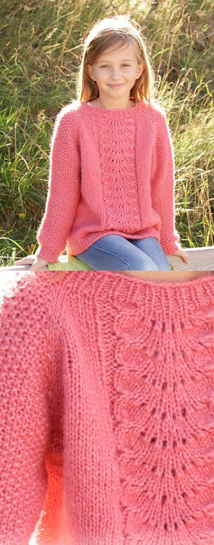 Über 20 kostenlose Strickmuster für Kinder zum Herunterladen   – Jacken,ponchos und Pullover