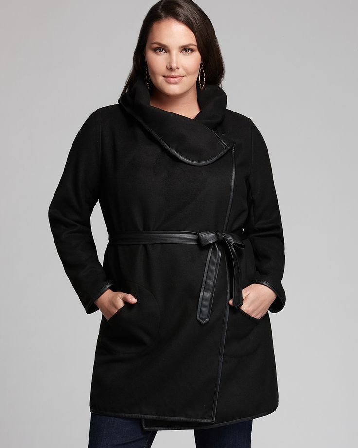 JAIME Melton Coat | Bloomingdale's