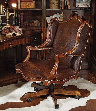 Century Furniture Home Office Cabot Executive Chair Walter E
