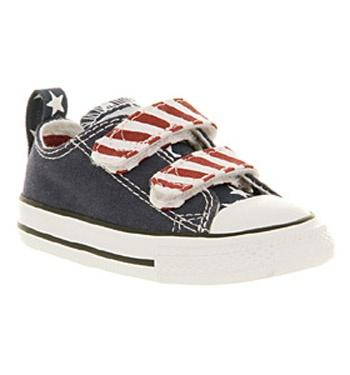 Converse All Star Lo Velcro Stars & Bars £26.99 @ Office: Converse All Star, Kids Converse, Kids Stuff