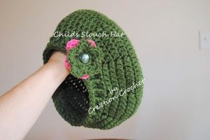 childs slouch hat FREE pattern