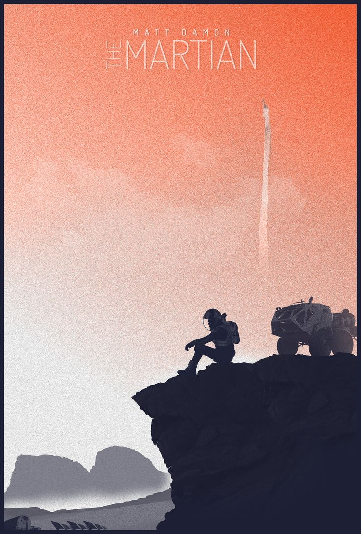 The Martian Movie Poster - Created by Felix TindallPrints available for sale on Society6.