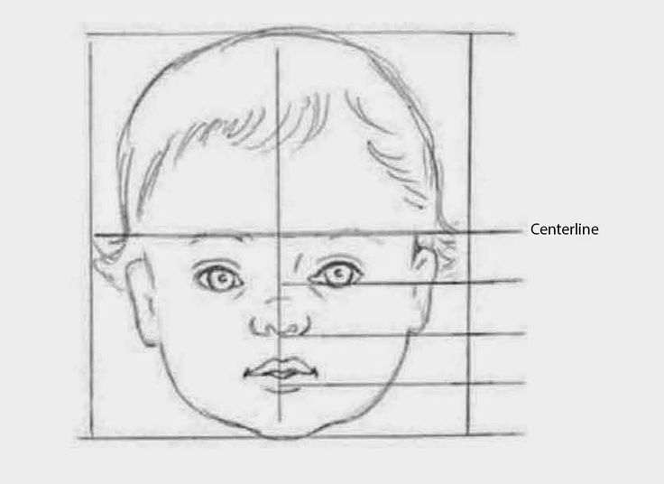 CHILDREN'S FACIAL PROPORTIONS   Children's proportions are different than those of adults: Young children have rounder faces with larger ey...