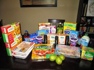 My Shopping Trip ~ Oct 19, 2013 55% Savings   Couponing in Canada
