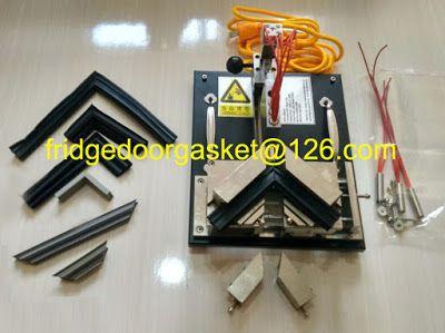 Refrigeration Gasket Welder for Gasket Manufacturer and Replacement: Refrigeración portátil junta de la puerta soldador...