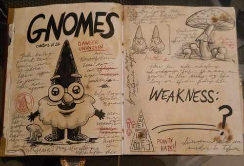 Awesome Book 3 fan made replica-Gravity Falls