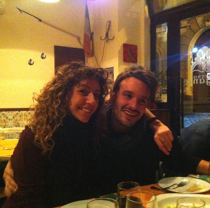 Carlotta e Matteo dal Brigante. Ristorante Napoli La Taverna Del Brigante www.latavernadelbrigantenapoli.it