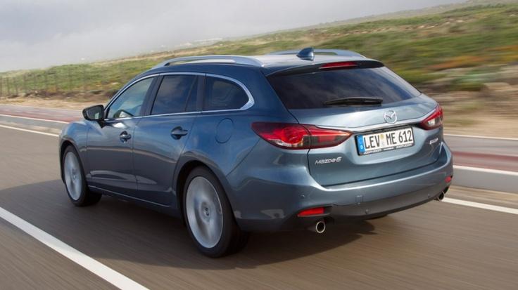 Mazda6 Wagon, familiar a precio de sedán