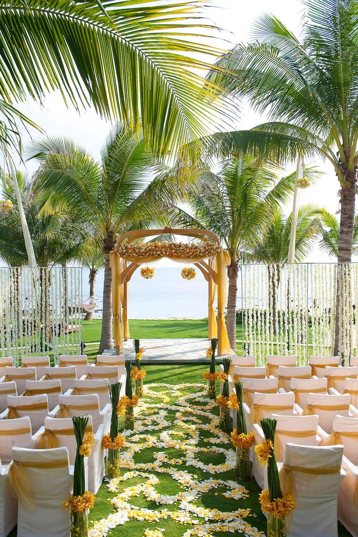 The resorts in the Caribbean offer endless possibilities for your special day!