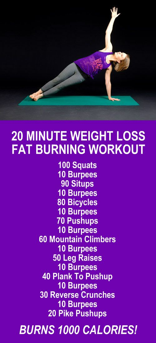 20 Minutes Weight Loss Fat Burning Workout. Learn about Zija's potent Moringa based product line and lose weight and burn fat like never before! Get our FREE eBook with suggested fitness plan, food diary, and exercise tracker. Look and feel your best with Zija! LEARN MORE #FatBurning #WeightLoss #Exercises #Workouts #Routines