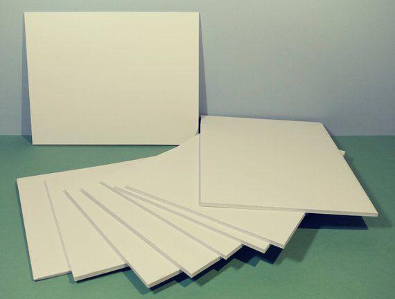 5 Pcs 8 1 2 X 11 White Foam Board Precut Foamcore Artist Craft Supply Art Backing Mount Artprint Picture Framing Artwork Home Foam Board Decor Display Precuts