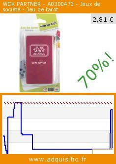 WDK PARTNER - A0300473 - Jeux de société - Jeu de tarot (Jouet). Réduction de 70%! Prix actuel 2,81 €, l'ancien prix était de 9,50 €. http://www.adquisitio.fr/multi-toys/jeux-cartes-jeu-tarot