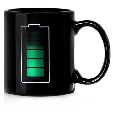 Temperarture Indicator Coffee Mug Design