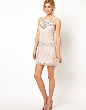 Frock and Frill Deco Sequin Shift Dress beautiful for The Great Gatsby