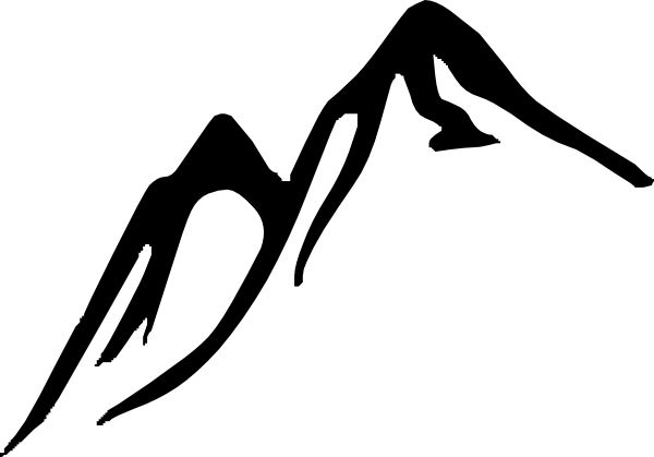 free mountain clipart | Mountains clip art - vector clip art online, royalty free & public ...