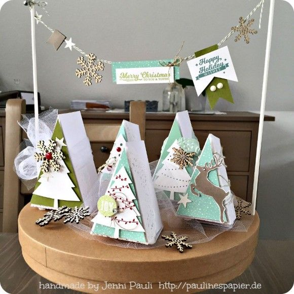 Stampin'Up! Peaceful Pines