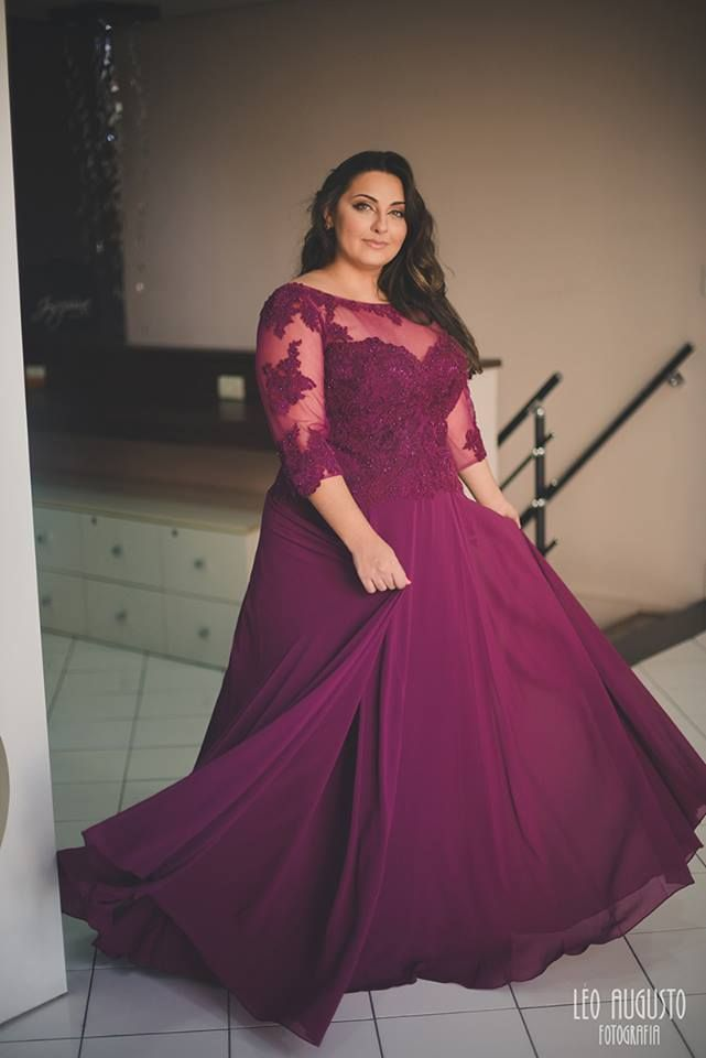 28 best Vestidos images on Pinterest | Evening gowns, Plus size and ...