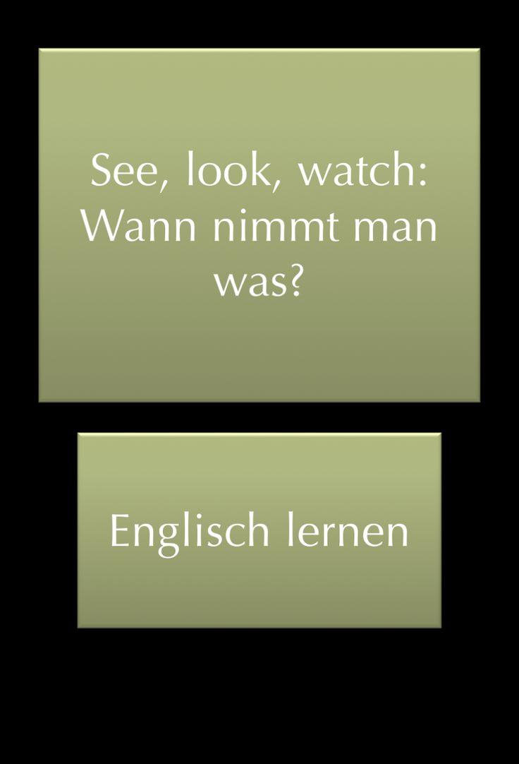 Betrachten Englisch