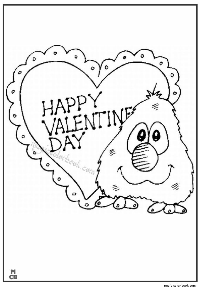 36 best Valentine s Day Coloring pages images on Pinterest