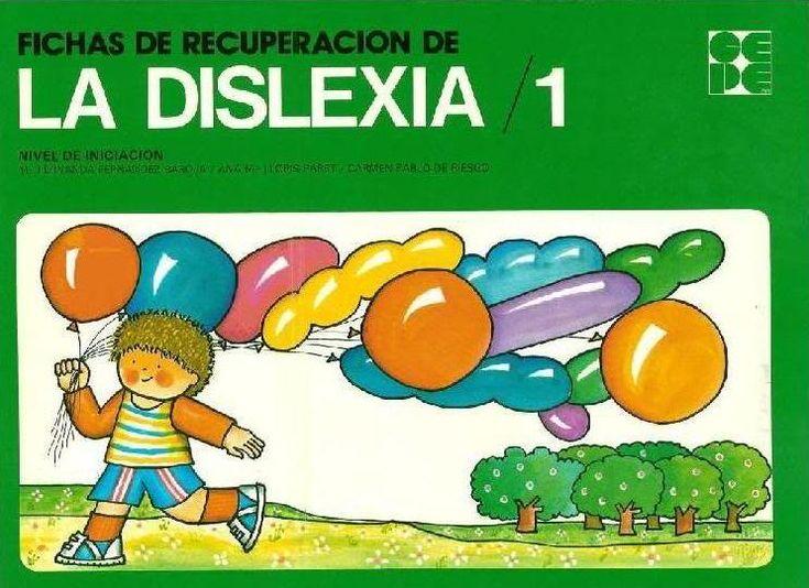 El profe y su clase de PT: Cuadernos de fichas de recuperación de la dislexia...