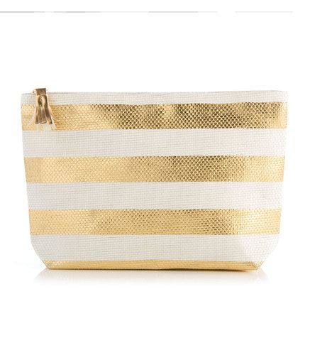 Stripe Cosmetic Pouch