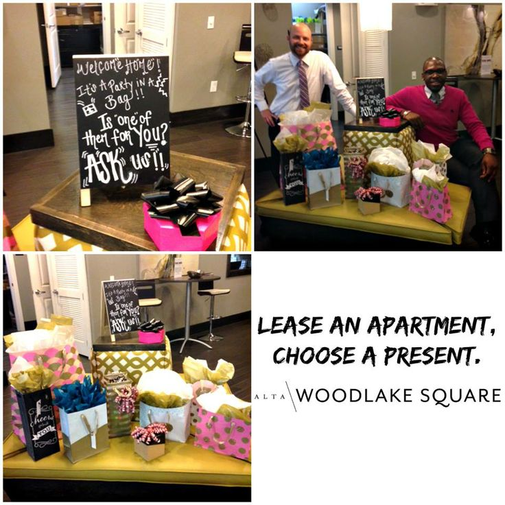 At one of my communities we did a celebration station, lease an apartment and they get to pick a gift! Really fun and really worked!